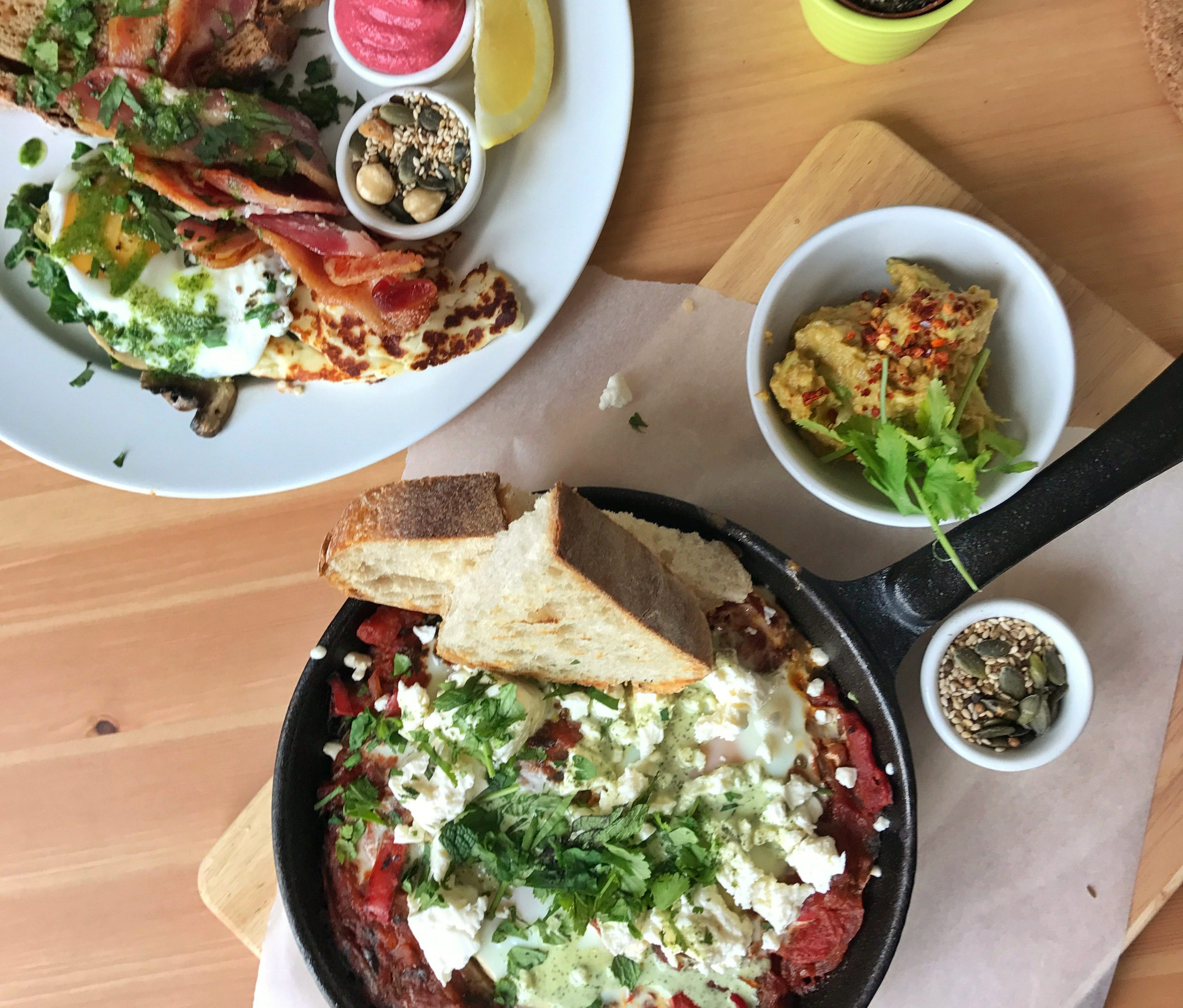 review brunch kith kin Whitley bay