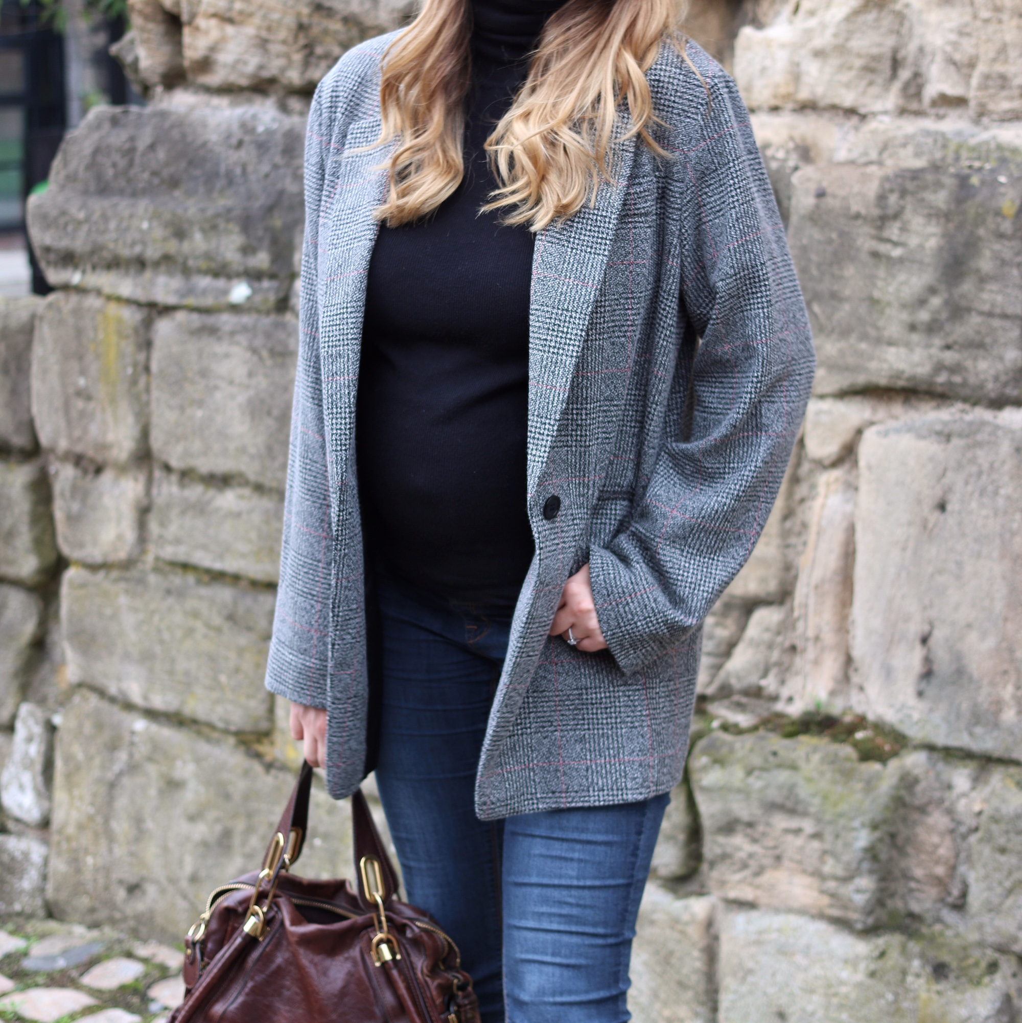 blazer oversized Zara dupe primark autumn fashion coat blogger style